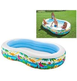 INTEX Intex Zwembad Paradise Pool 262x160x46cm
