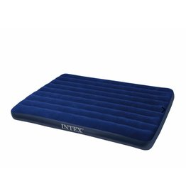 Intex - Luchtbed - Downy Queen - 2-Persoons - 203x152x22 cm
