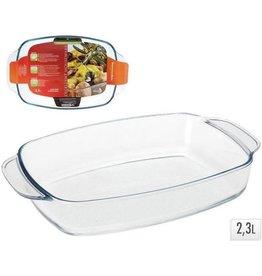 EXCELLENT HOUSEWARE Ovenschaal Glas 2,3 liter