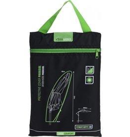 PRO GARDEN ProGarden Hang Parasol Afdekhoes   Beschermhoes Zwart - tot 300 cm