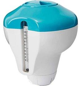 Intex - 2-In-1 - Chloordrijver en Thermometer