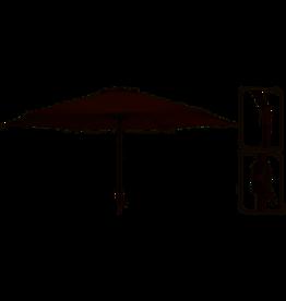 Ambiance Deluxe parasol Ø270cm Taupe  Met draaimechanisme