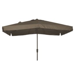 Lesli Living Parasol Libra taupe 2x3meter met knik en UV scherm