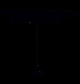 Lesli Living Parasol Libra zwart 2,5x2,5meter met knik