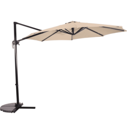 Lesli Living Zweefparasol Libra Ecru 3 meter