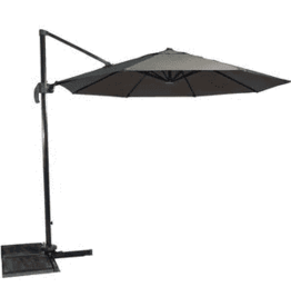 Lesli Living Zweefparasol Libra 3 meter, Taupe