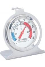 ALPINA Alpina Thermometer Koelkast/vriezer Zilver 6,5 Cm