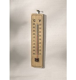Thermometer hout 22 cm