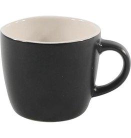 Kleine Mat Zwarte Koffiemokjes/Espressokopjes 110 ML. 6.5cmØ. 5.7cm
