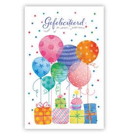 PRIMEURCARDS Gefeliciteerd- PrimeurCards- met envelop