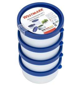 WESTMARK Westmark Diepvriesdoos 4 Stuks 0,1 Liter