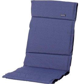 Madison Home tuinkussen Madison fiber sling Panama safier 123x50 cm - blauw