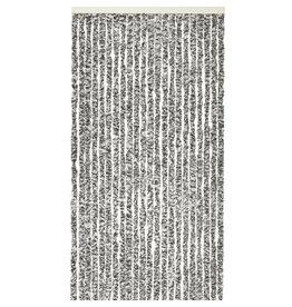 WICOTEX Vliegengordijn-kattenstaart- 100x240 cm grijs/zwart/wit mix in doos