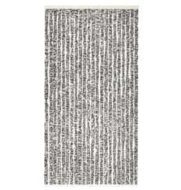 Wincotex Vliegengordijn-kattenstaart- 120x240 cm grijs/zwart/wit mix in doos