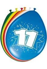 FOLAT Ballonnen 11 Jaar 30cm 8 stuks
