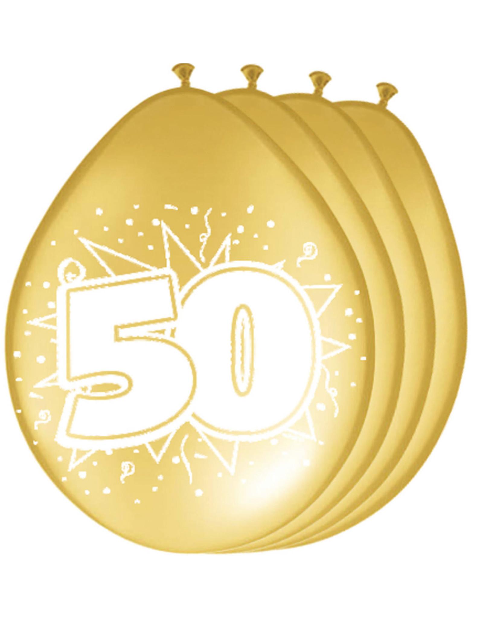 ballon 50 goud