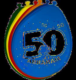 FOLAT 50 Jaar Abraham Ballonnen - 8 stuks