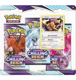 POKEMON Pokemon Chilling Reign 3 Booster Blister (1 willekeurige)