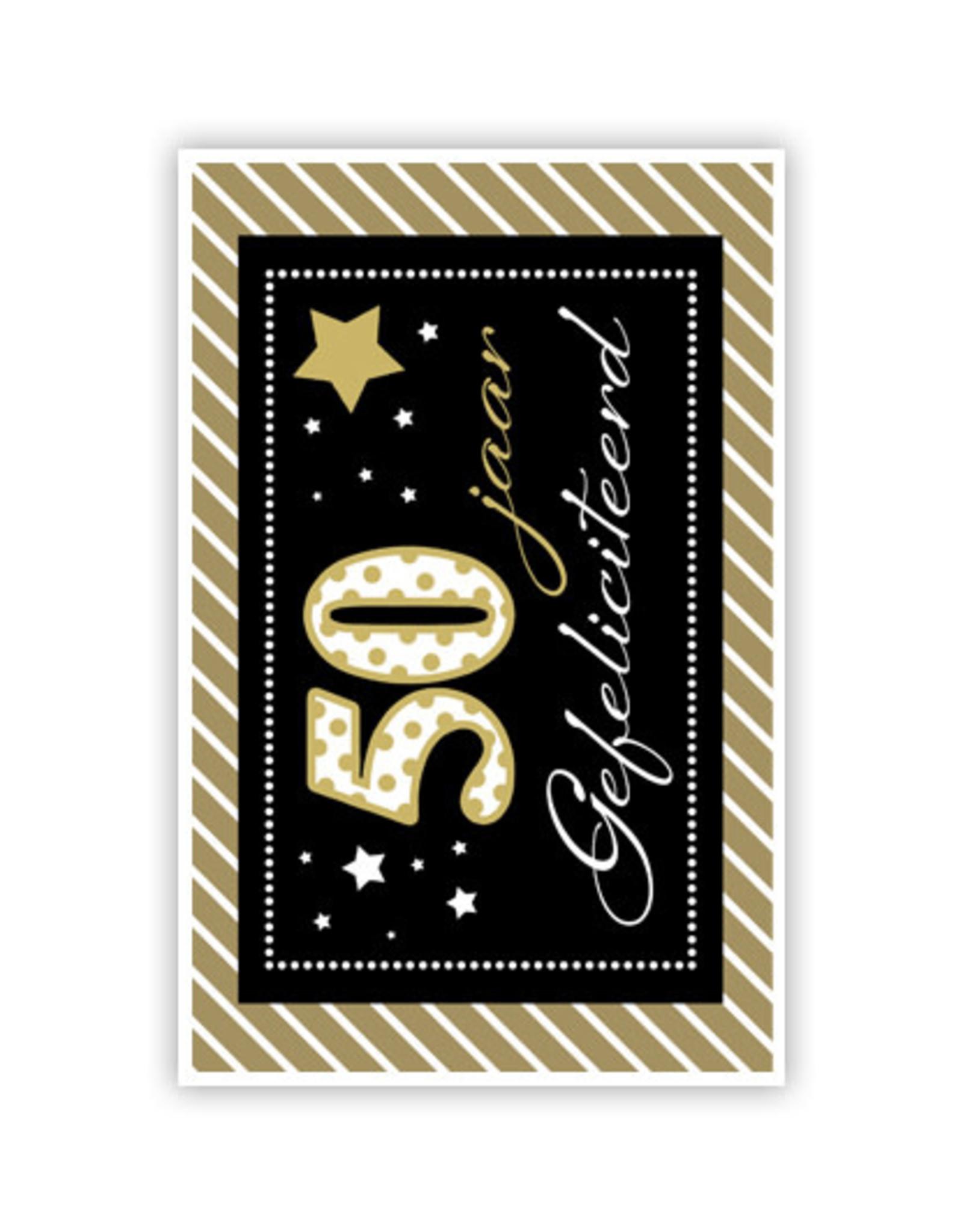 PRIMEURCARDS 50jasr- PrimeurCards- met envelop
