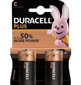 DURACELL Duracell Plus LR14 Baby C batterijen MN 1400 (2 blister)