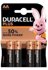 DURACELL Batterij Duracell Plus Power LR6 Mignon AA batterij MN 1500 (4 blister)