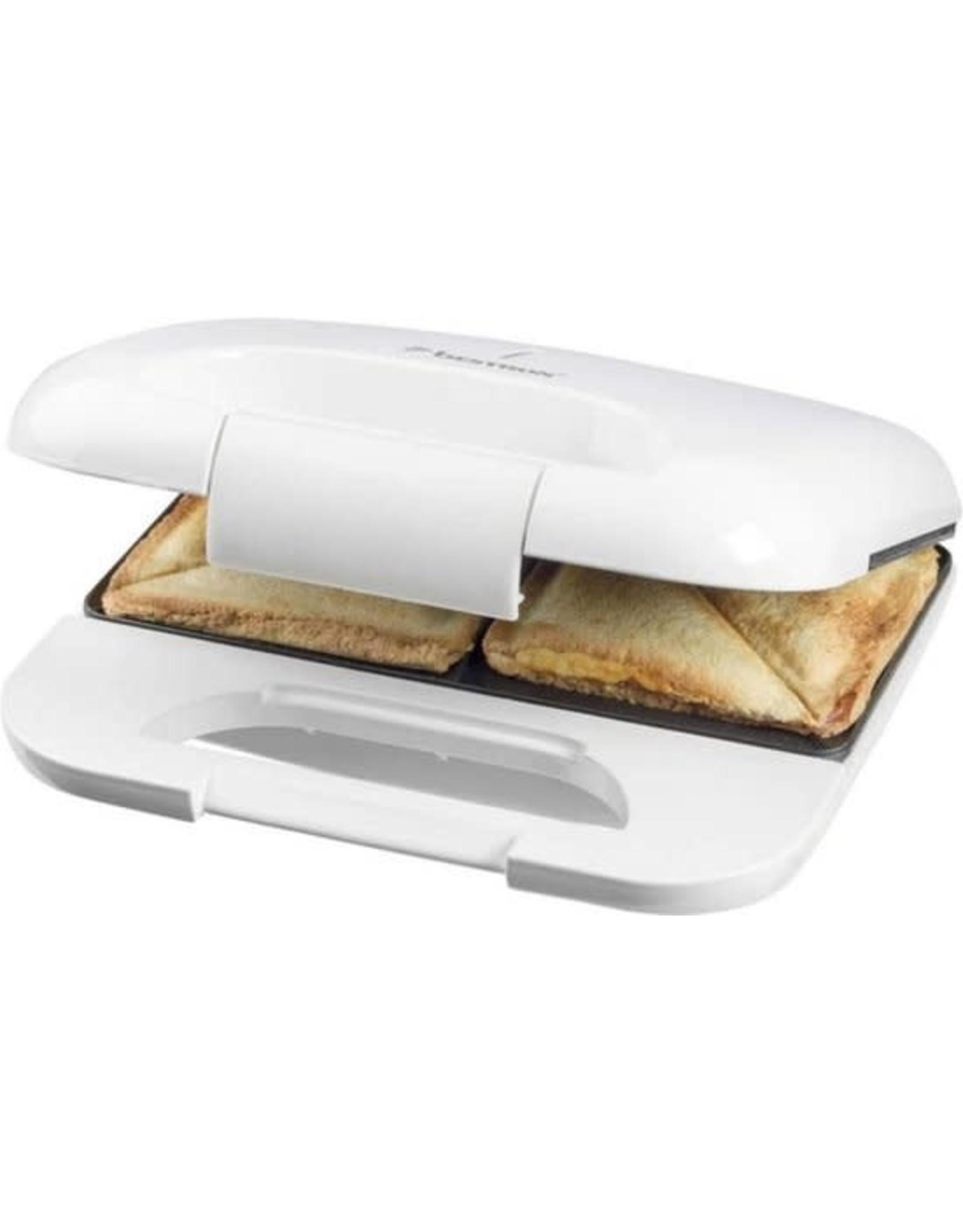 BESTRON Bestrooi sandwichmaker 750w wit