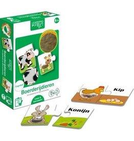 Learning Kitds - Boerderijdieren (6X2)