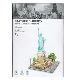 3D puzzels World Famous Architecture- Statue of Libertty