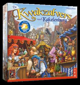 999 GAMES De Kwakzalvers van Kakelenburg - Bordspel