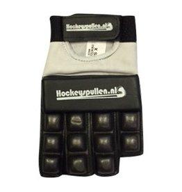 Hockeyspullen.nl Handschoen Half Finger Basic Zwart *
