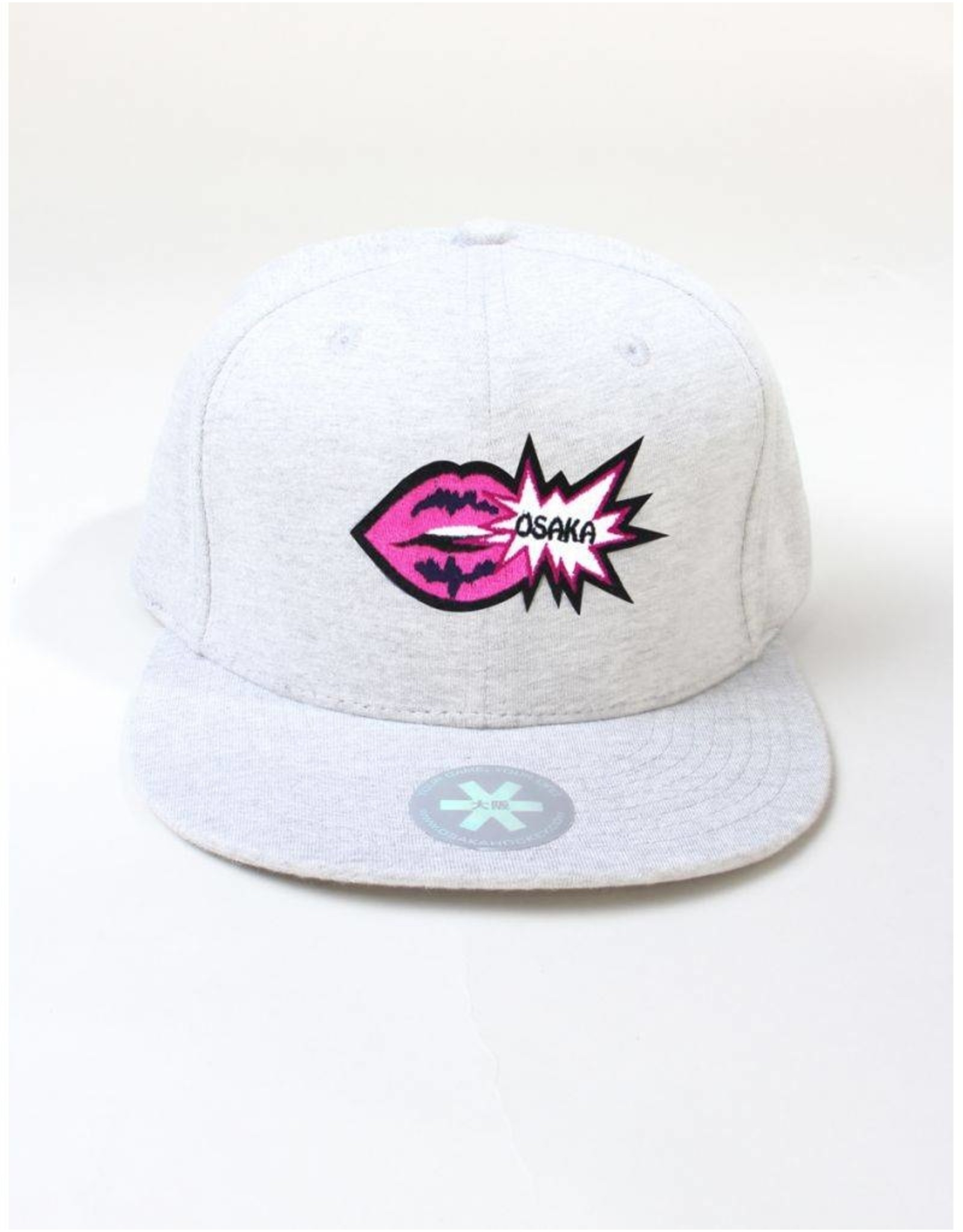 Osaka Snapback Grey Osaka Hockey Lips