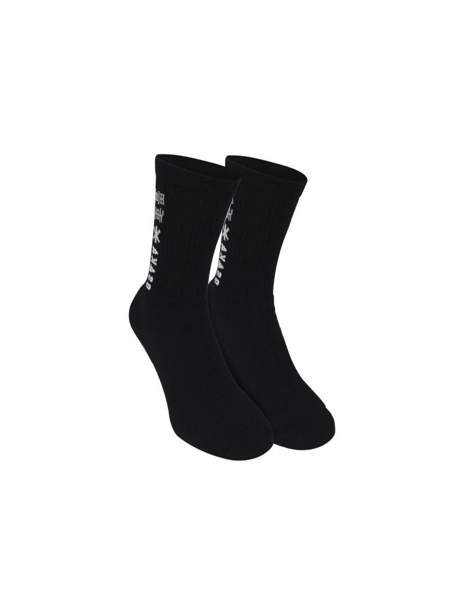 Osaka Basic Socks Duo Pack Black