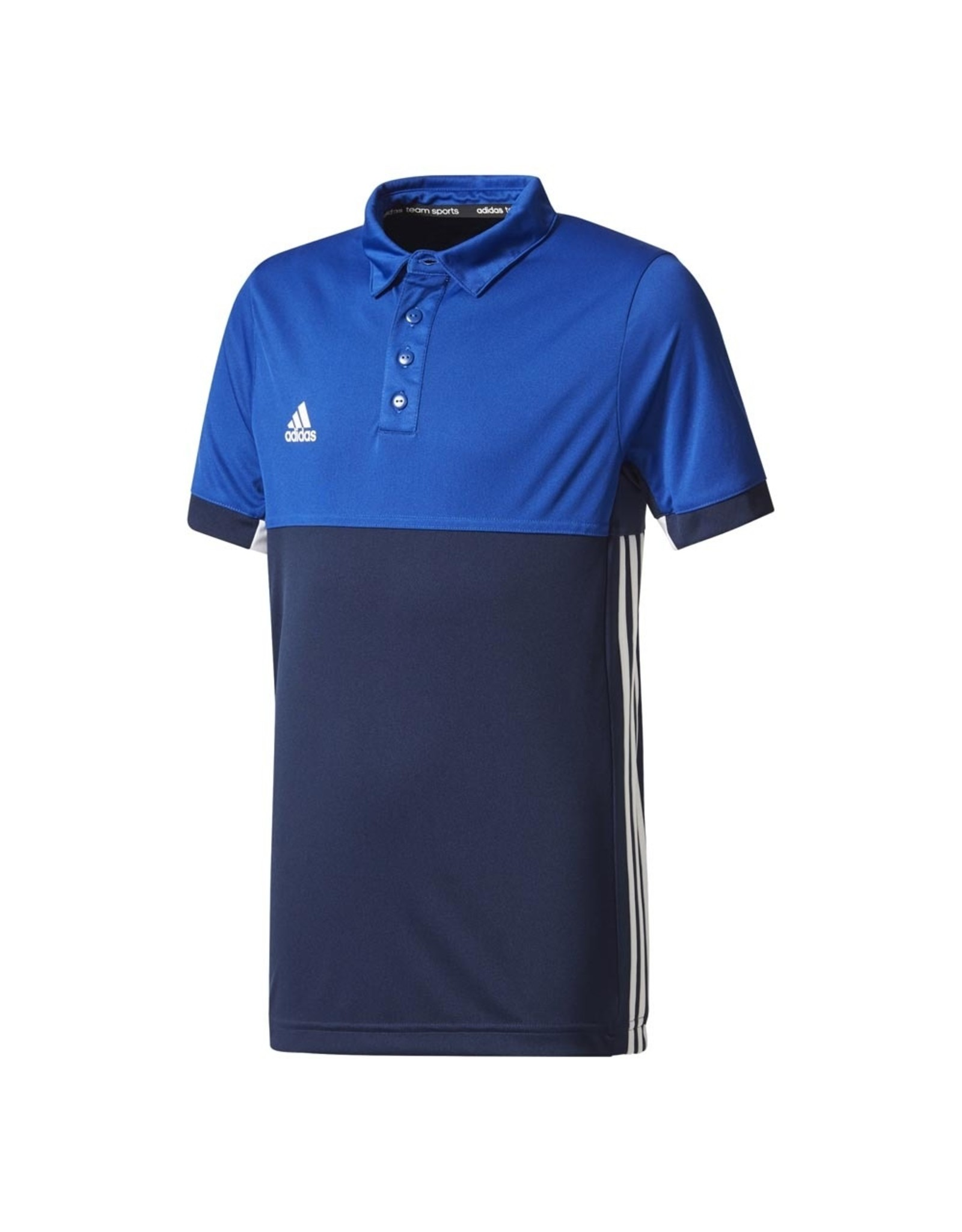 Adidas MT T16 POLO JUNIOR BOYS BLAUW