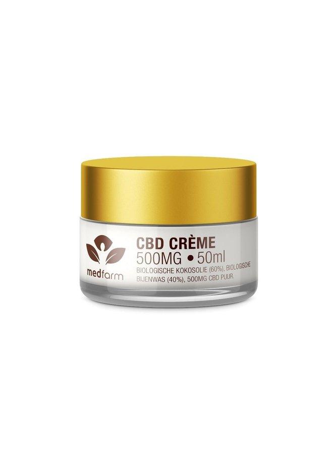 CBD Crème - Huidverzorging - 50 ml - 500 mg