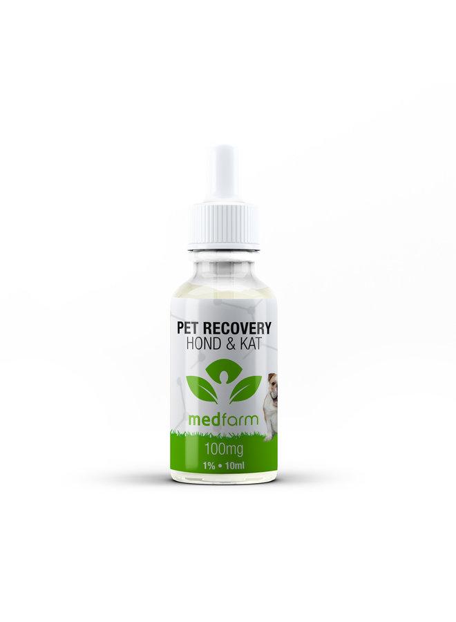 CBD Olie - 1% - Hond & Kat - 10 ml - 100 mg