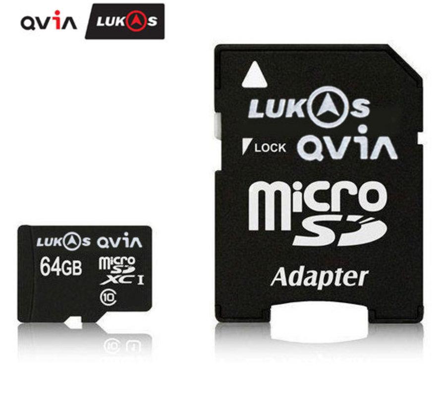 LUKAS/Qvia 64gb MLC Micro SDXC