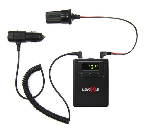 LUKAS/Qvia LUKAS/Qvia LK-530 2600mAh dashcam battery pack