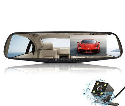 Allcam Mirror FullHD 1080p 2CH Dual Clear dashcam