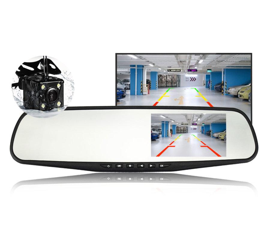 Mirror FullHD 1080p 2CH Dual Clear dashcam