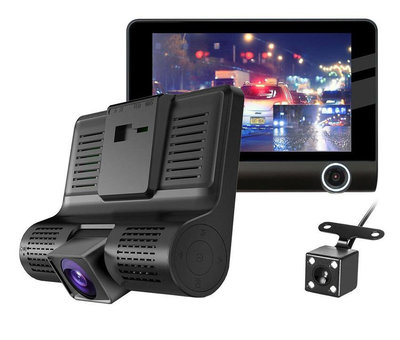Allcam T7 Taxi Triple 3CH 4.0 inch LCD dashcam