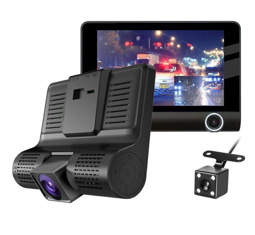 T7 Taxi Triple 3CH 4.0 inch LCD dashcam
