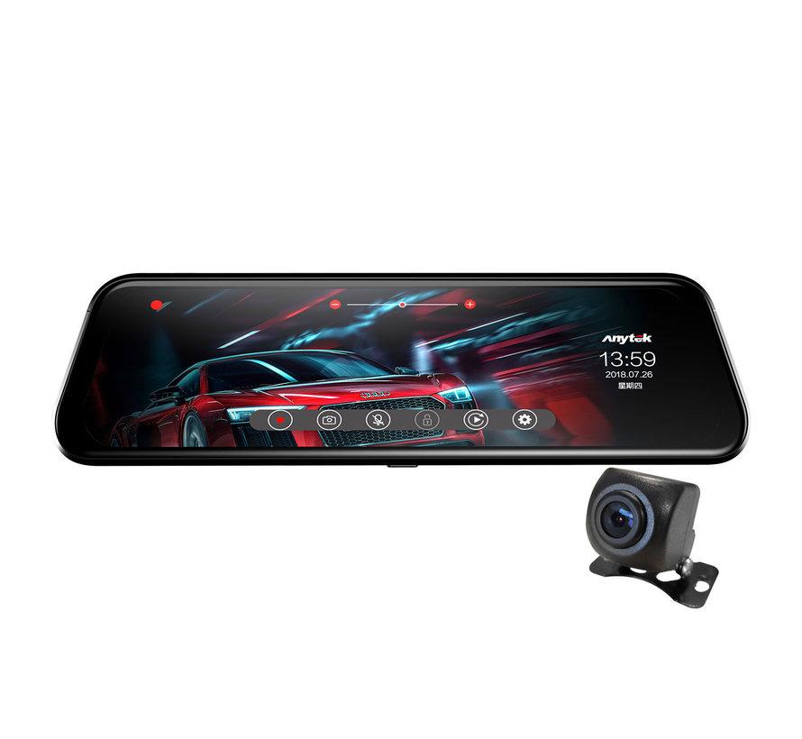 Anytek T12+ 2CH Full Mirror Touch FullHD dashcam
