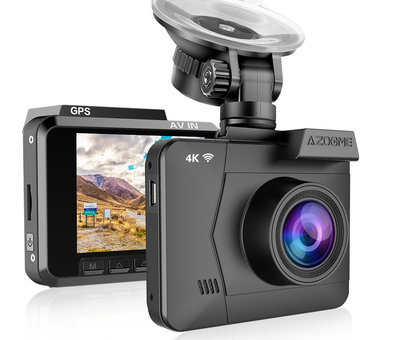 AZDome AZDome M06P True 4K Wifi GPS dashcam