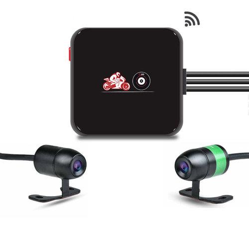 Motocam Motocam E6L 2CH Dual Wifi motor dashcam