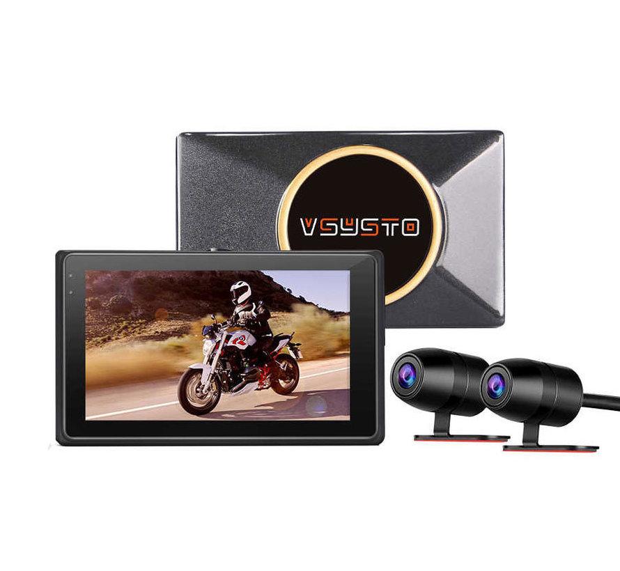 Motocam E7 2CH Dual Wifi Vsysto motor dashcam