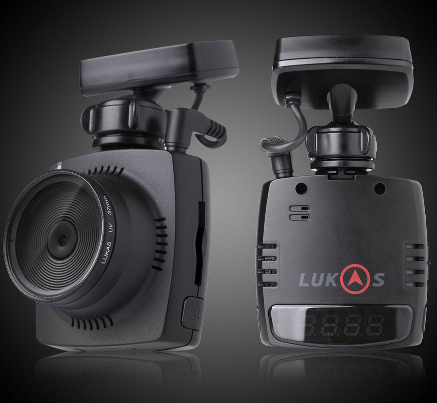 LUKAS LK-7500V Wifi GPS 16gb FullHD dashcam