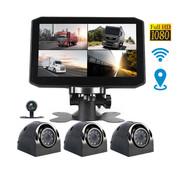 Motocam Motocam X17 4CH Wifi GPS FullHD vrachtwagen dashcam