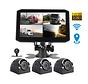 Motocam X17 4CH Wifi GPS FullHD vrachtwagen dashcam