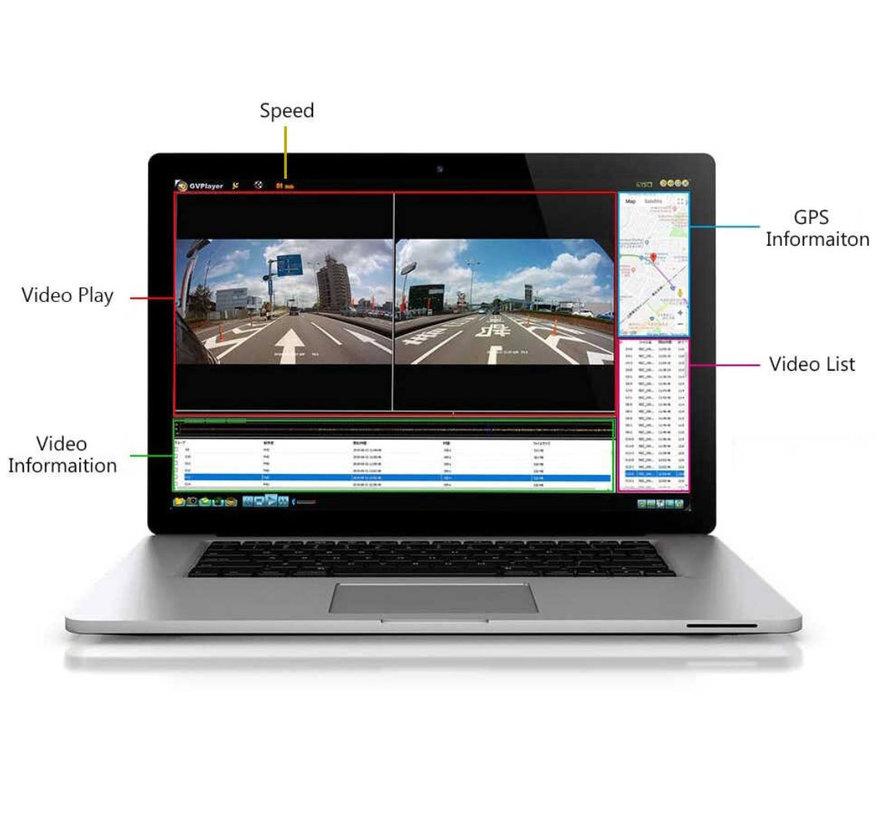 Motocam GPS ontvanger