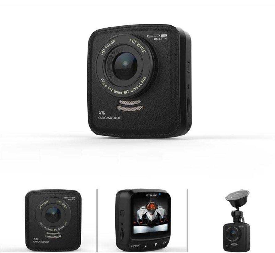 Koonlung A76 FullHD GPS 460mAh dashcam
